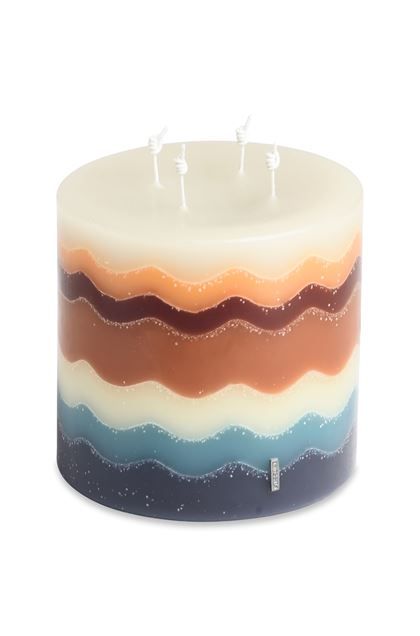 MISSONI HOME FLAME CANDELA Marrone E - Fronte