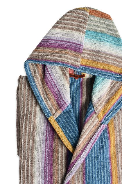 MISSONI HOME VIVIETTE BATHROBE Khaki E - Front