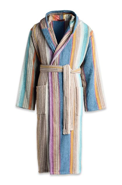 MISSONI HOME VIVIETTE BATHROBE Khaki E - Back