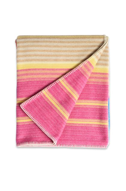 MISSONI HOME VILMA PLAID Fucsia E - Retro