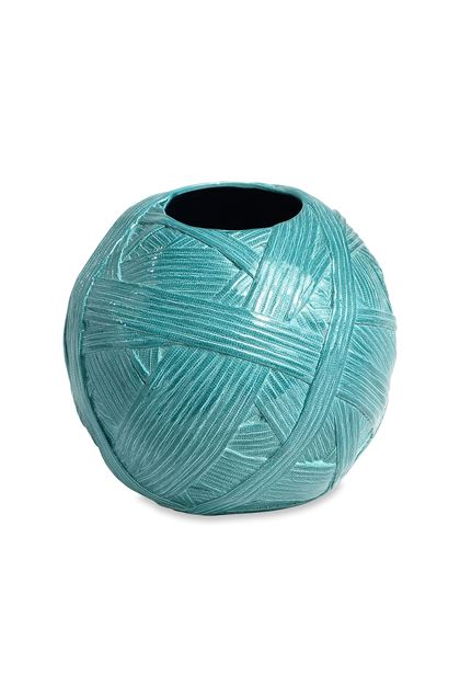 MISSONI HOME JAR_GOMITOLO ВАЗА Бирюзовый E - Передняя сторона