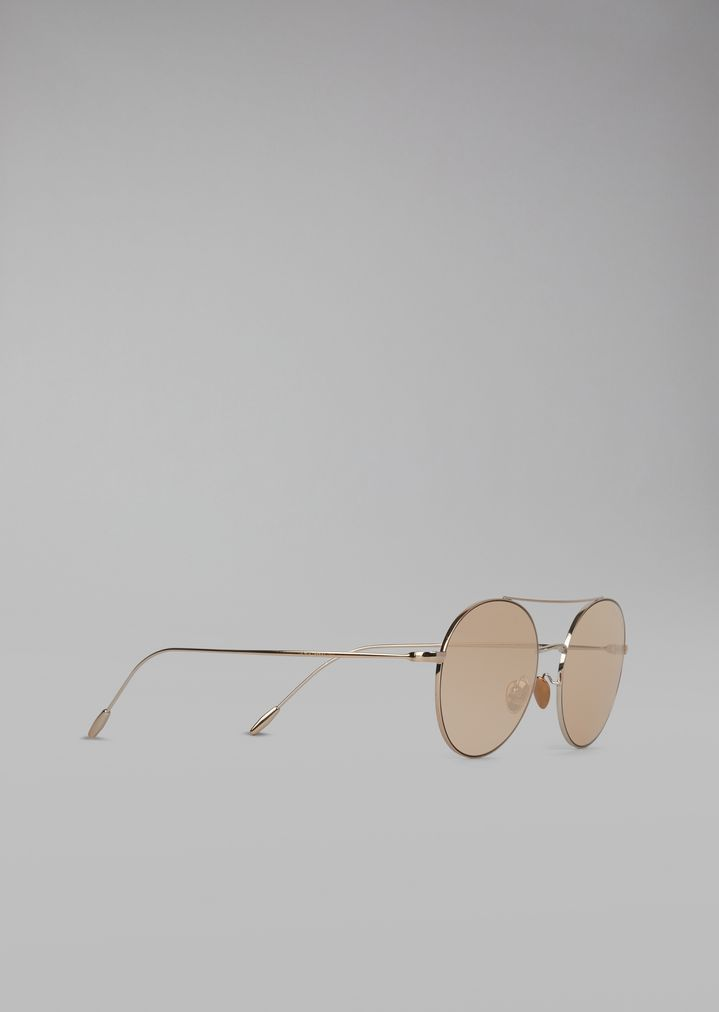 42d246ef554 Sunglasses with round metal frame