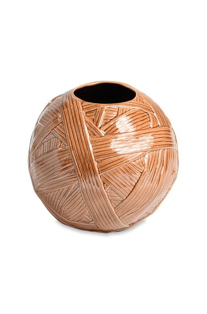MISSONI HOME JAR_GOMITOLO  ВАЗА Песочный E - Передняя сторона