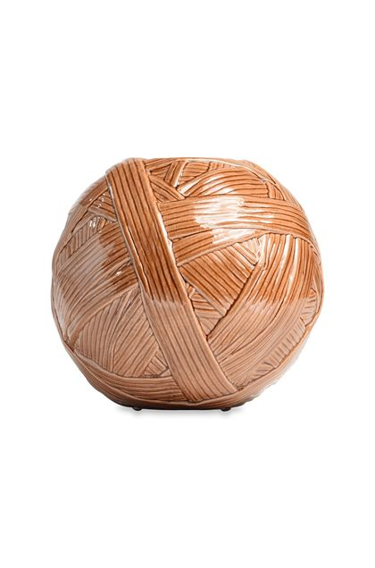 MISSONI HOME JAR_GOMITOLO  VASE Sand E - Back