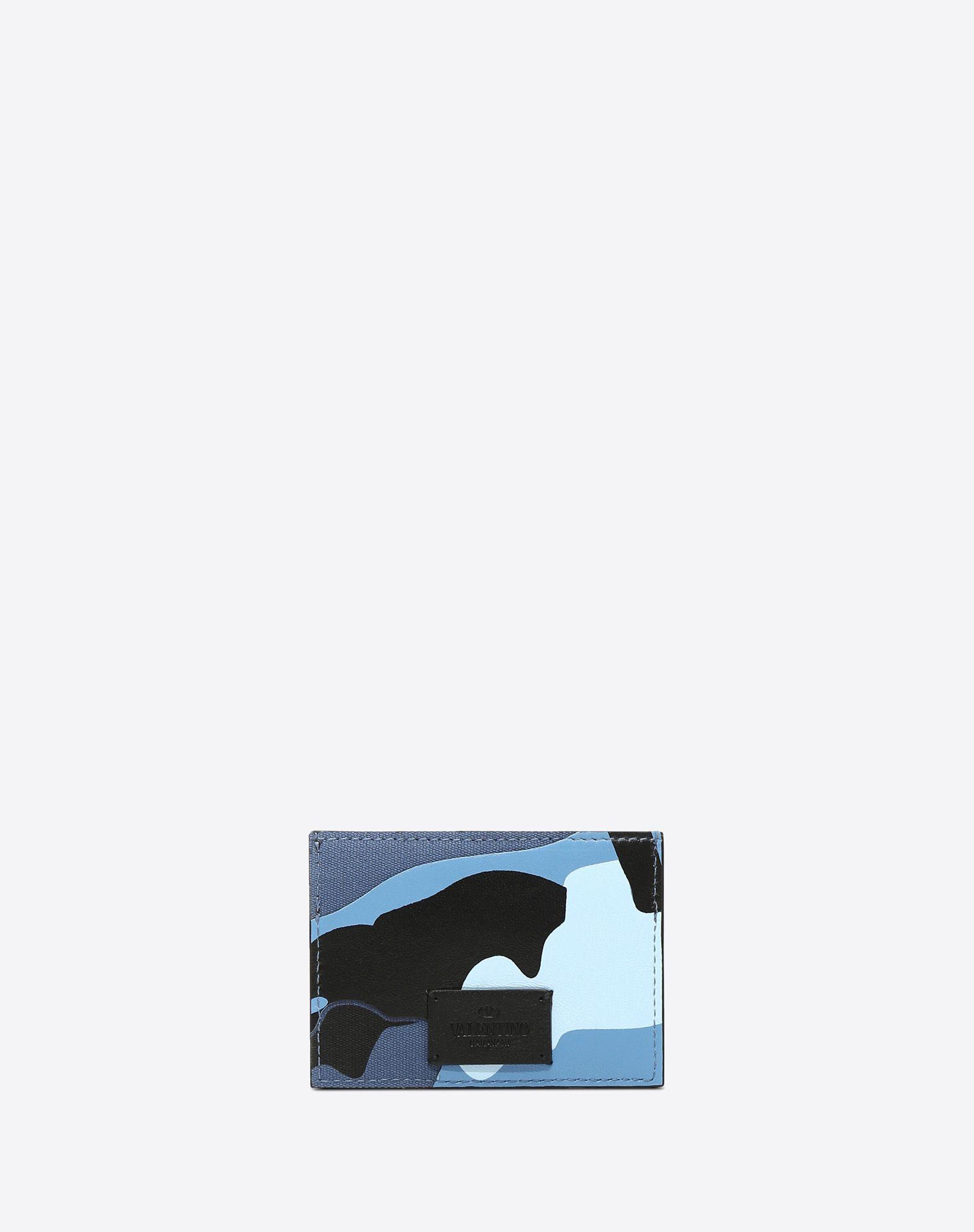 VALENTINO GARAVANI UOMO Camouflage card holder  CARD CASE U d