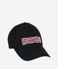 KARL LAGERFELD Casquette brodée K/Stripes 9_f