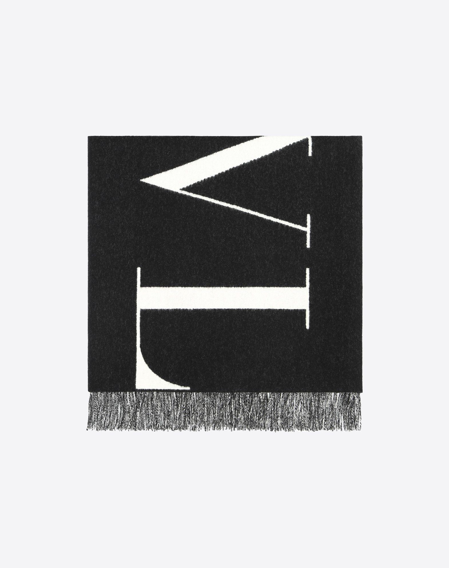 VALENTINO Logo Fringe Two-tone  46585007nk