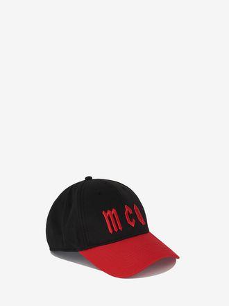 McQ Gothic Logo Baseball Cap
