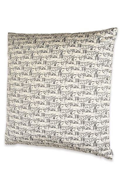MISSONI HOME IDEOGRAMMA  CUSHION Beige E - Back