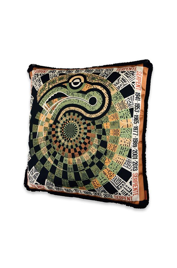 MISSONI HOME OROSCOPO CUSHION Green E