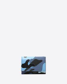 VALENTINO GARAVANI UOMO COMPACT WALLETS U Camouflage wallet f