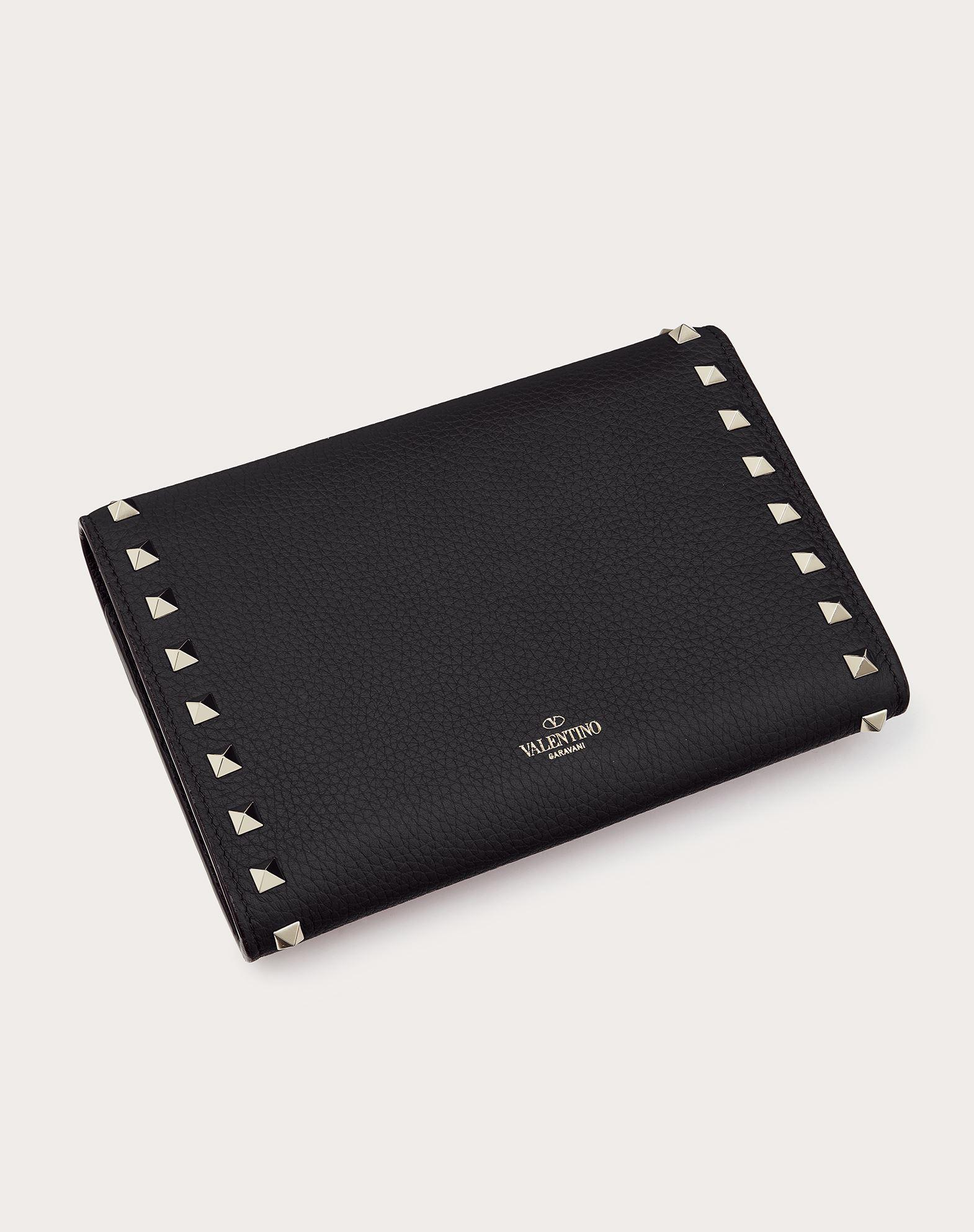 VALENTINO GARAVANI Rockstud Wallet with chain CHAIN WALLETS D d