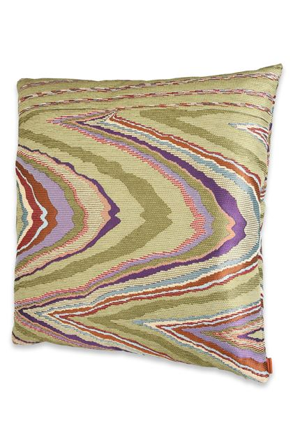 MISSONI HOME VALLAURIS CUSHION Light green E - Back
