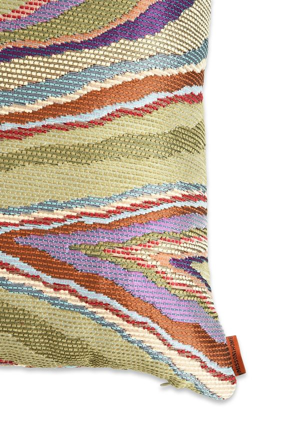 MISSONI HOME VALLAURIS CUSHION E, Rear view