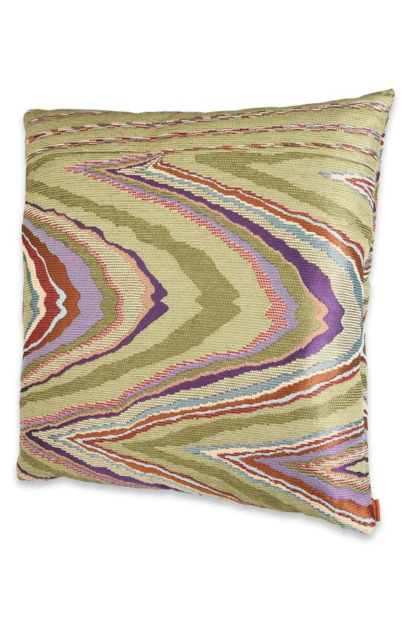 MISSONI HOME VALLAURIS CUSHION E, Frontal view