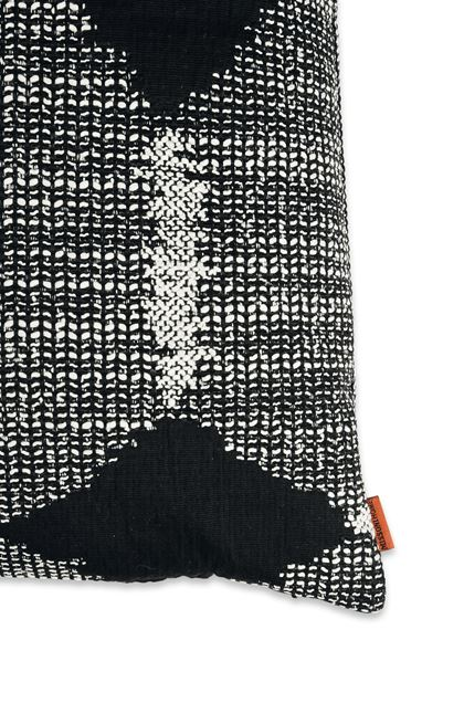 MISSONI HOME VISBY  CUSHION Black E - Front