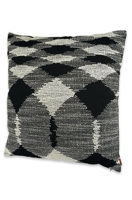 MISSONI HOME VISBY  CUSHION Black E - Back
