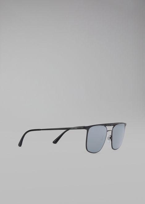 Gafas de sol con montura redonda