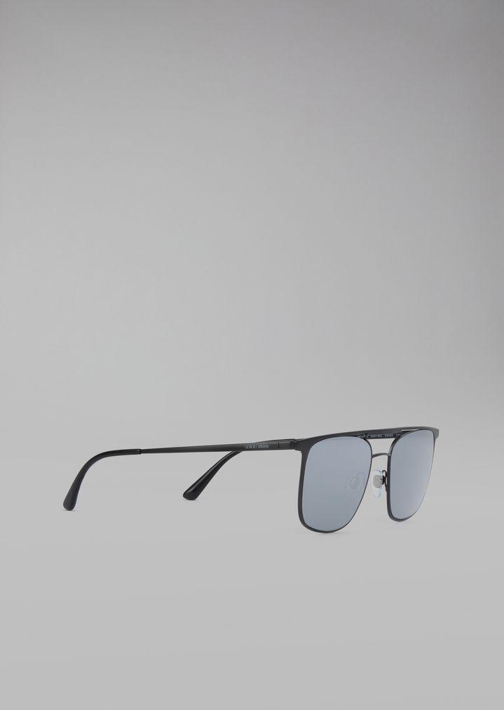 Gafas de sol con montura redonda | Hombre | Giorgio Armani