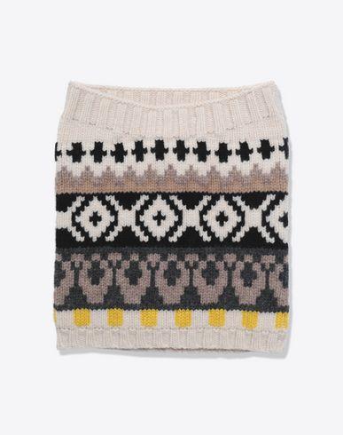MAISON MARGIELA Scarf Man Printed wool scarf f