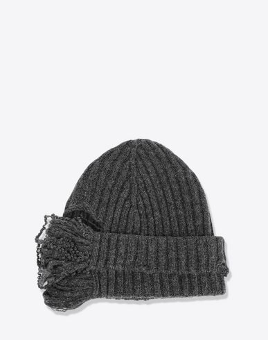 MAISON MARGIELA Hat [*** pickupInStoreShippingNotGuaranteed_info ***] Ribbed beanie f