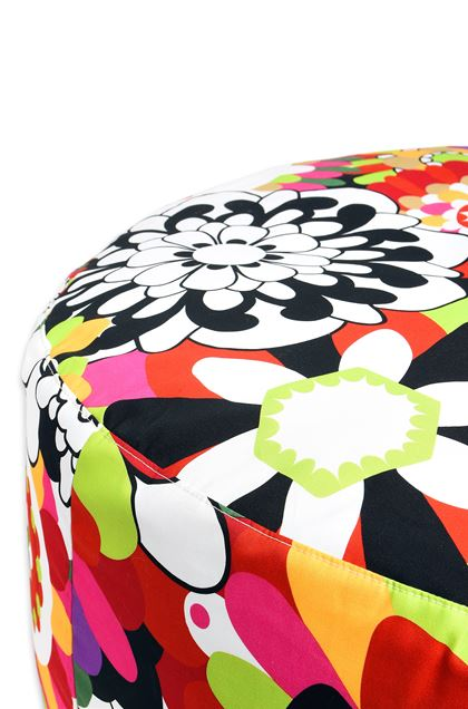 MISSONI HOME Ball POUF CIRC.80X35 Acid green E - Front