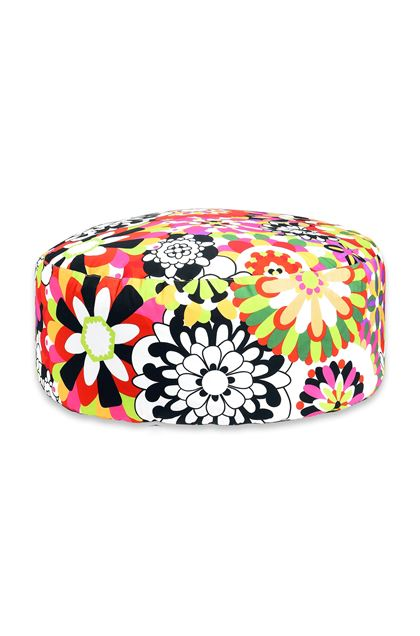 MISSONI HOME Ball POUF CIRC.80X35 Acid green E - Back