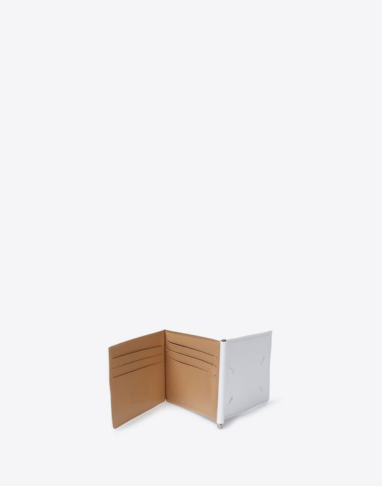MAISON MARGIELA Calfskin wallet with coin pouch Wallet [*** pickupInStoreShippingNotGuaranteed_info ***] d