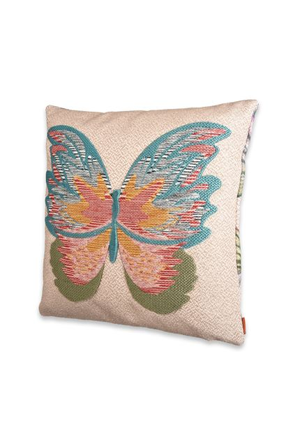 MISSONI HOME VERMILION CUSHION  Sand E - Back