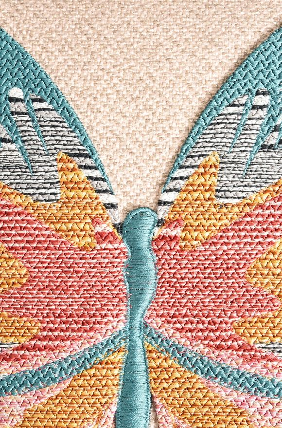 MISSONI HOME VERMILION CUSHION  E, Product view without model