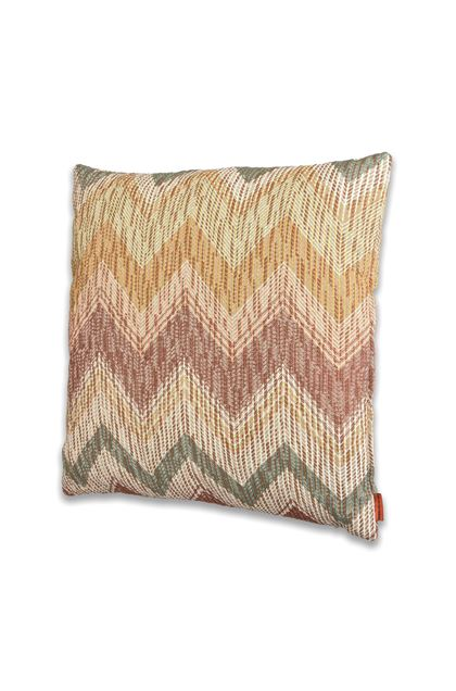 MISSONI HOME VALAIS CUSHION  Khaki E - Back