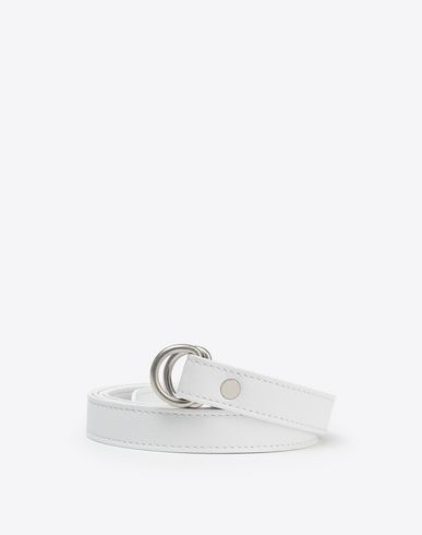 MAISON MARGIELA Belt [*** pickupInStoreShippingNotGuaranteed_info ***] Thin double ring belt f