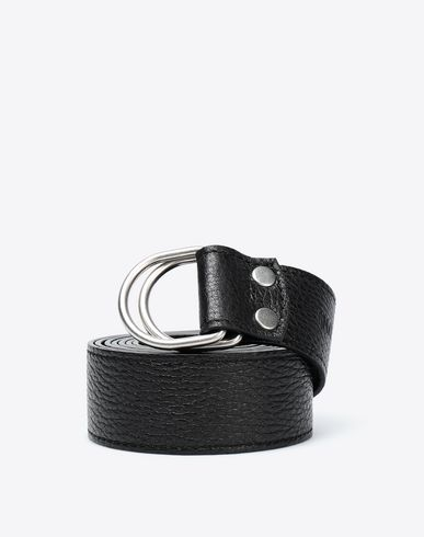 MAISON MARGIELA Belt [*** pickupInStoreShippingNotGuaranteed_info ***] Double ring belt f