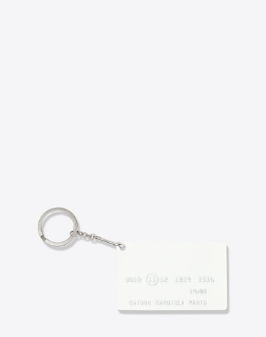 MAISON MARGIELA Document holder Man Metal keyring f