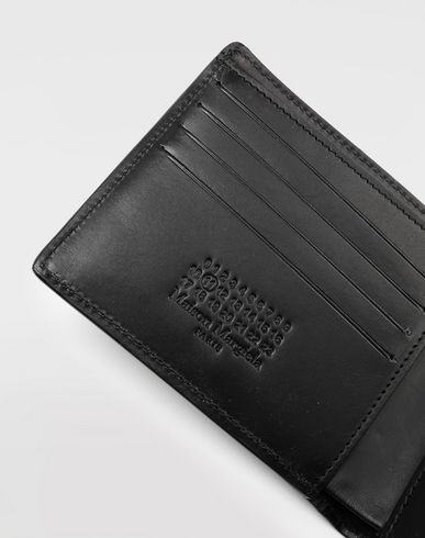 ACCESSORIES Calfskin wallet Black