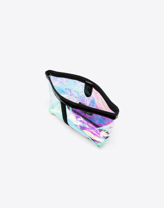 MAISON MARGIELA Hologram large pouch bag Clutch [*** pickupInStoreShipping_info ***] a