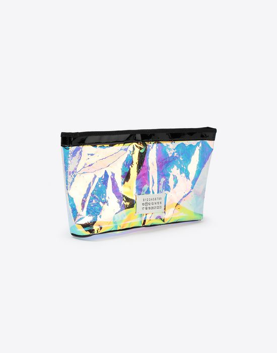 MAISON MARGIELA Hologram large pouch bag Clutch [*** pickupInStoreShipping_info ***] r