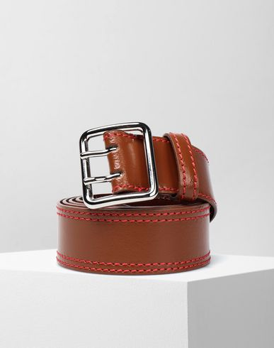 MM6 MAISON MARGIELA Belt Woman Calft leather belt f