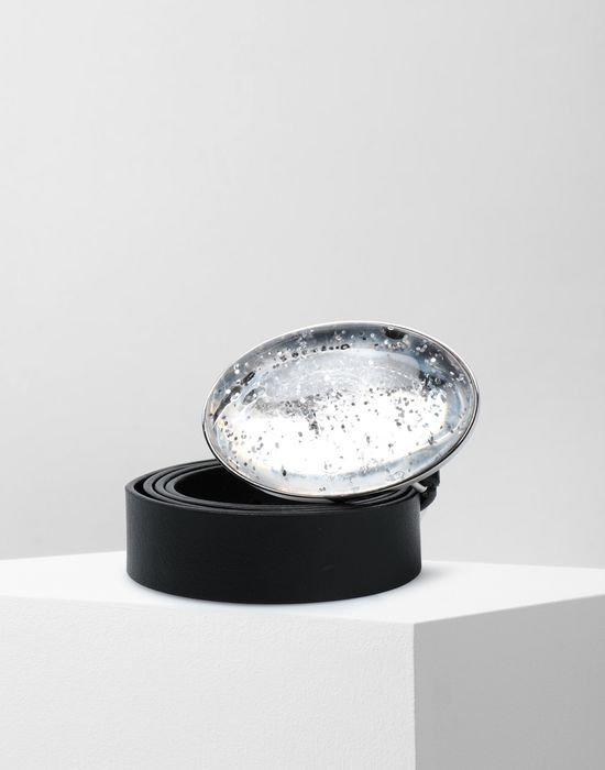 MM6 MAISON MARGIELA Snow globe leather belt Belt [*** pickupInStoreShipping_info ***] f