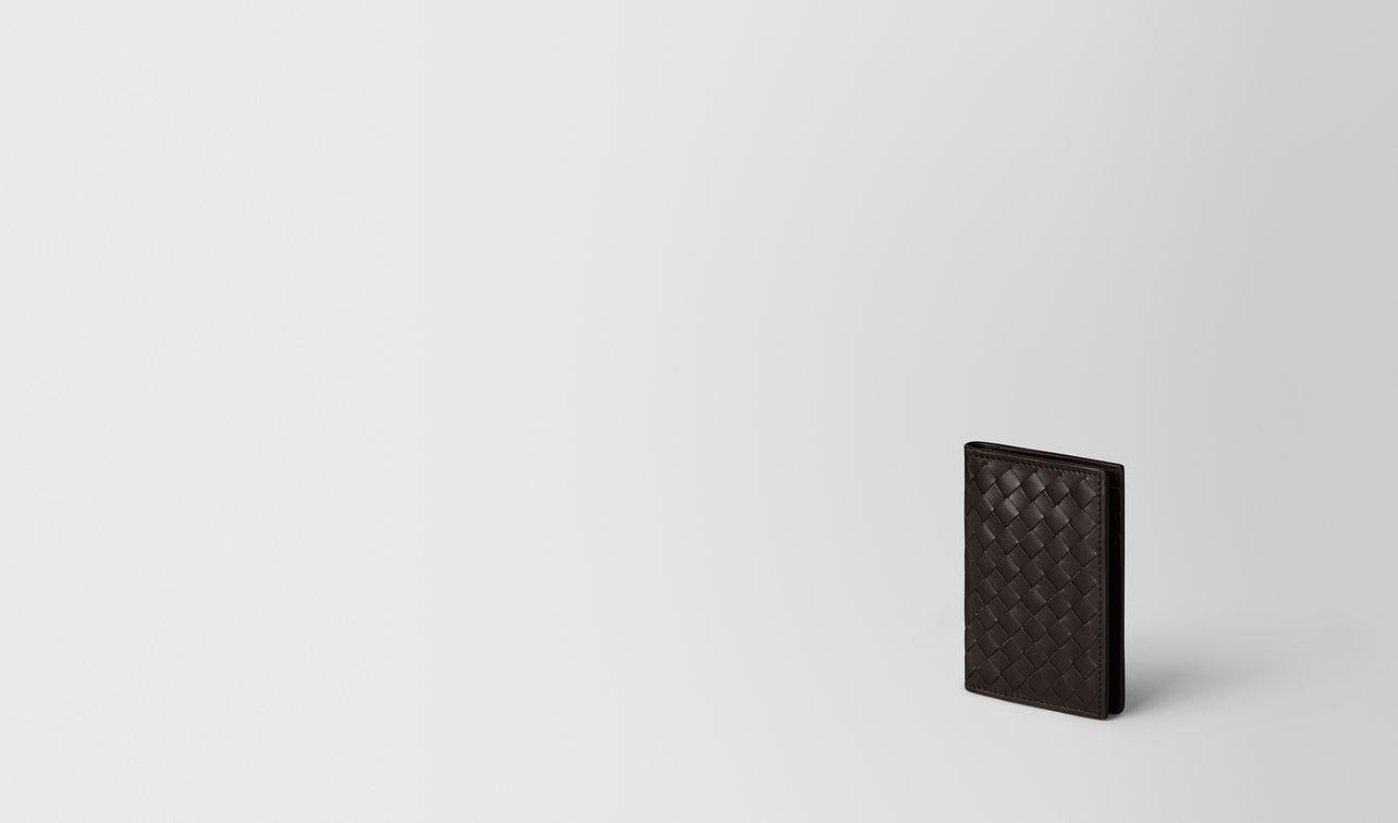 espresso intrecciato vn card case  landing