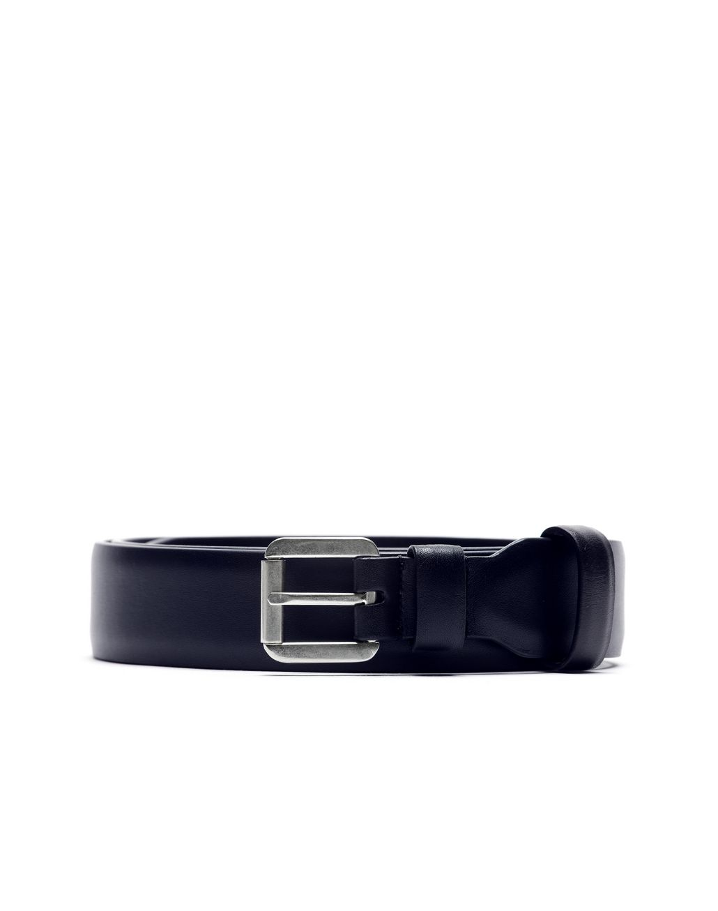 BRIONI Navy Blue Invisible Belt Belt Man r