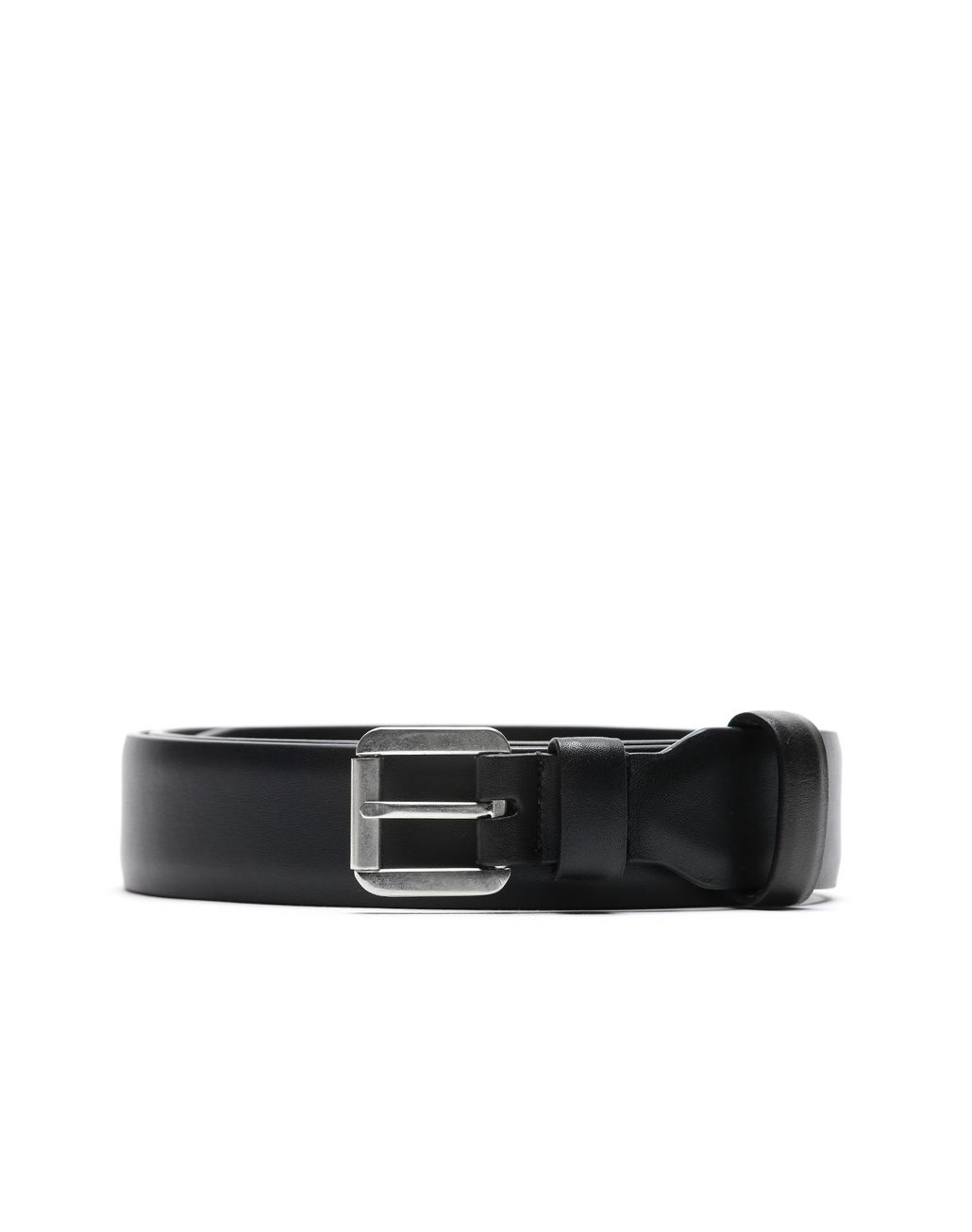 BRIONI Black Invisible Belt Belt Man r