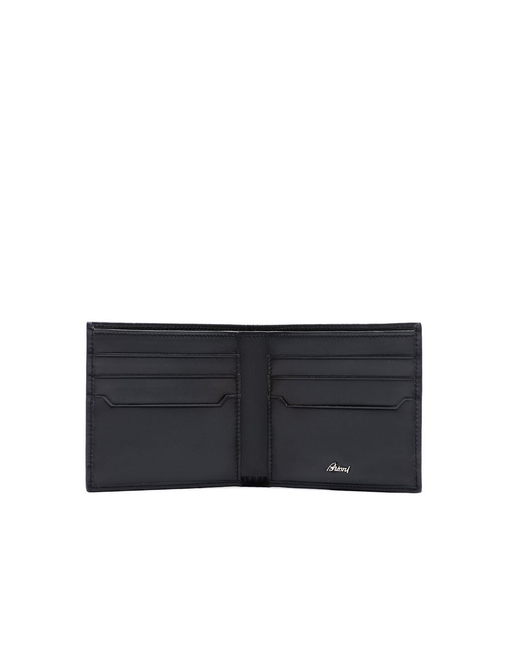 BRIONI Midnight Blue Calfskin Wallet Wallet Man r