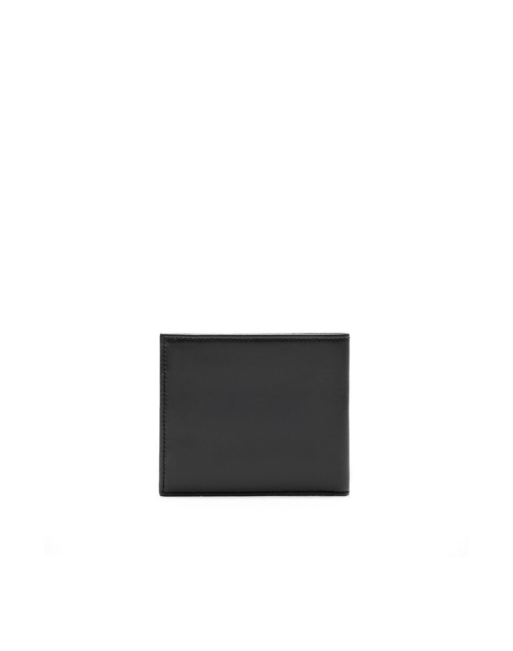 BRIONI Чёрный бумажник из телячьей кожи Бумажник Для Мужчин d