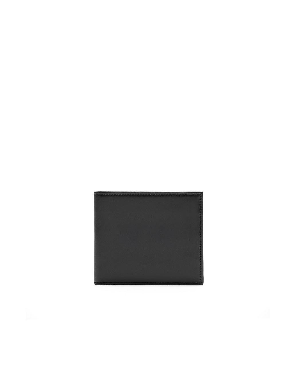BRIONI Чёрный бумажник из телячьей кожи Бумажник Для Мужчин f