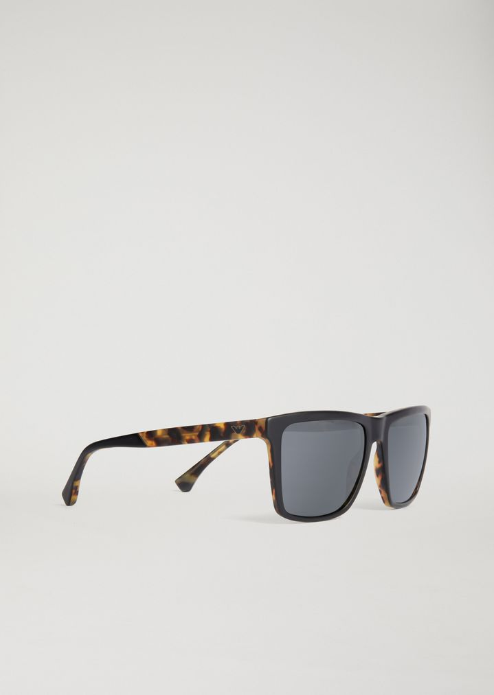 91939302489 Sunglasses with tortoiseshell temples