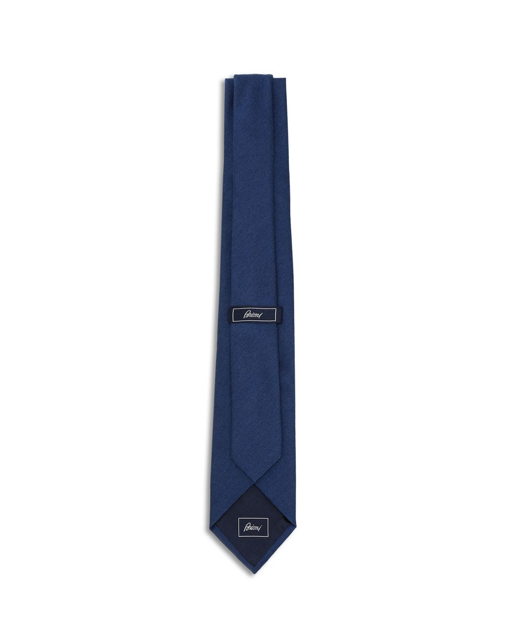 BRIONI Navy Blue Tie Tie [*** pickupInStoreShippingNotGuaranteed_info ***] r