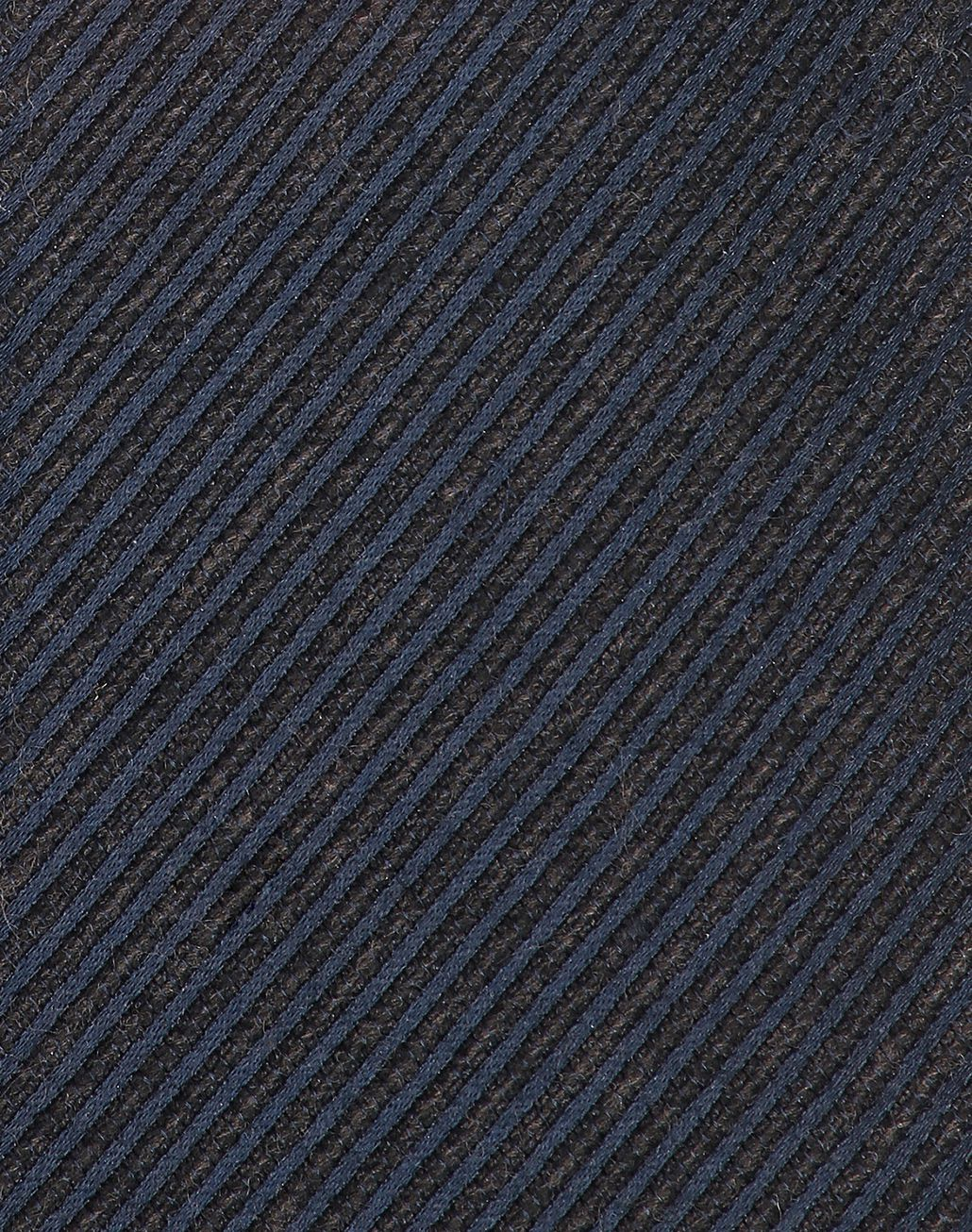 BRIONI Navy Blue Striped Tie Tie Man d