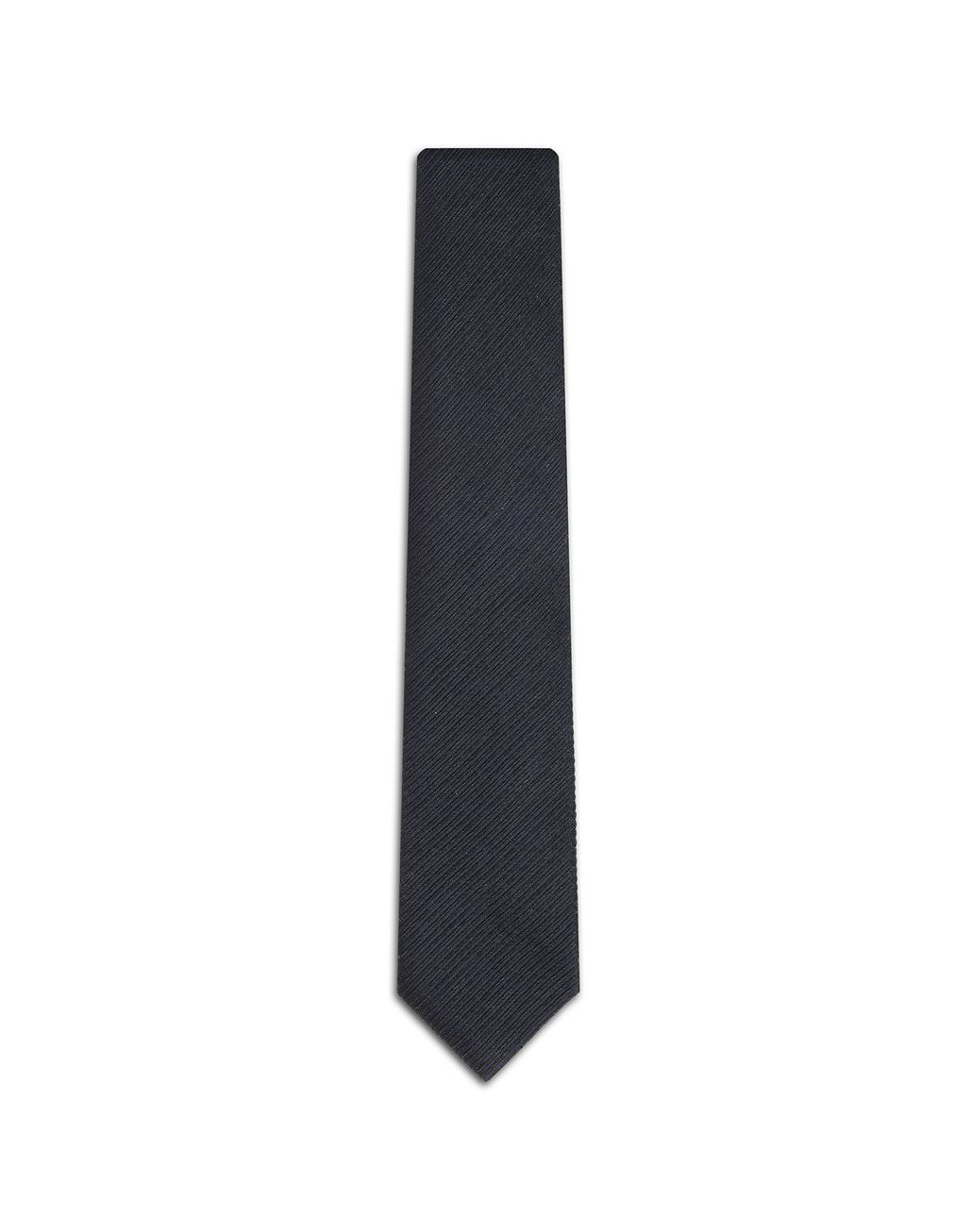 BRIONI Navy Blue Striped Tie Tie Man f
