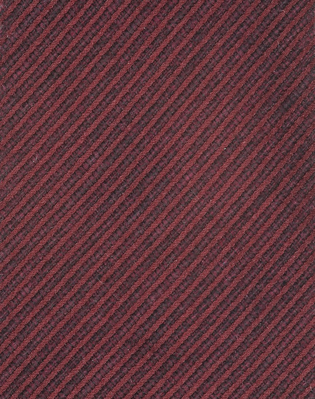 BRIONI Bordeaux Striped Tie Tie Man d